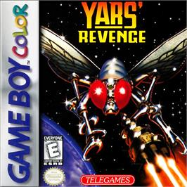 Box cover for Yars' Revenge - Quotile Ultimatum on the Nintendo Game Boy Color.