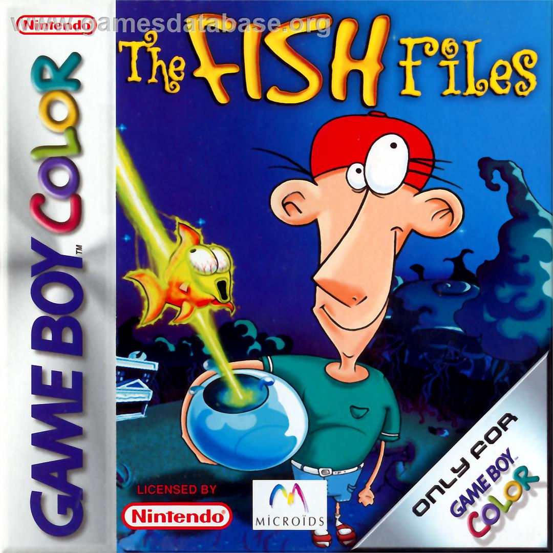 Fish Files - Nintendo Game Boy Color - Artwork - Box