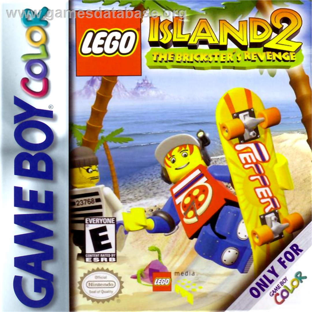 LEGO Island 2: The Brickster's Revenge - Nintendo Game Boy Color - Artwork - Box