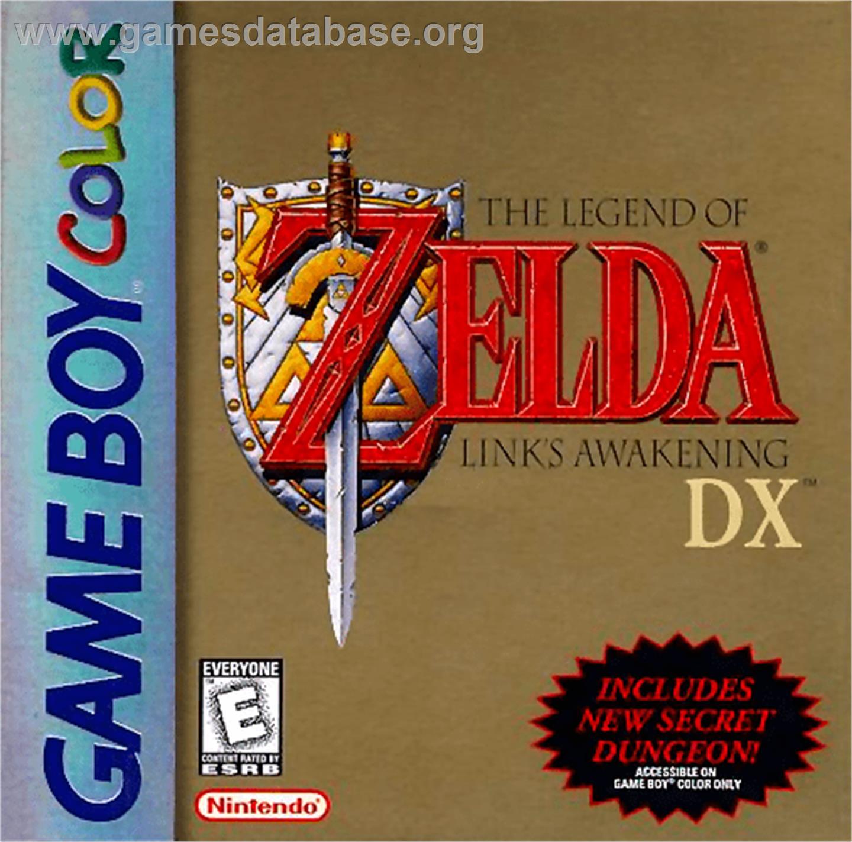 Legend of Zelda: Link's Awakening DX on the Nintendo Game Boy Color