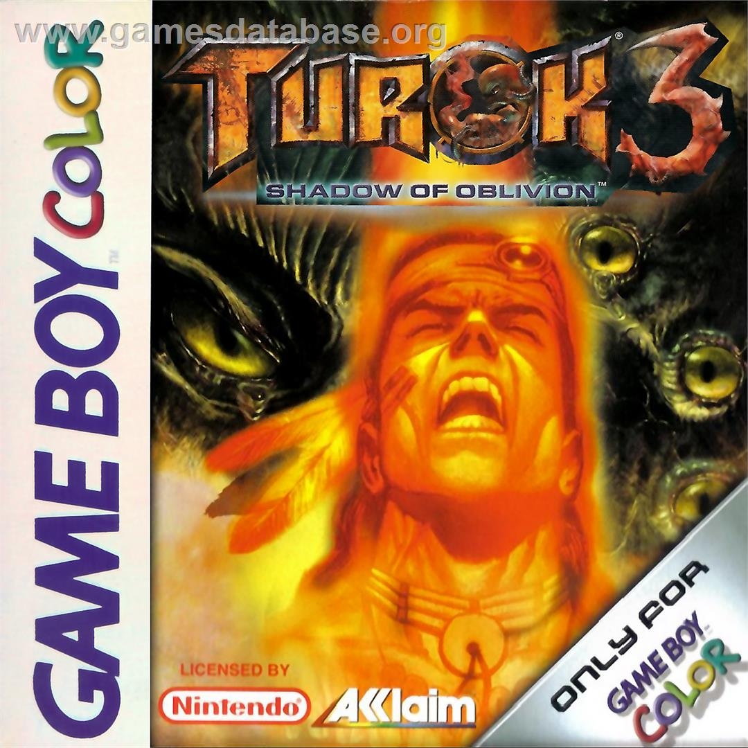 cover for Turok 3: Shadow of Oblivion on the Nintendo Game Boy Color