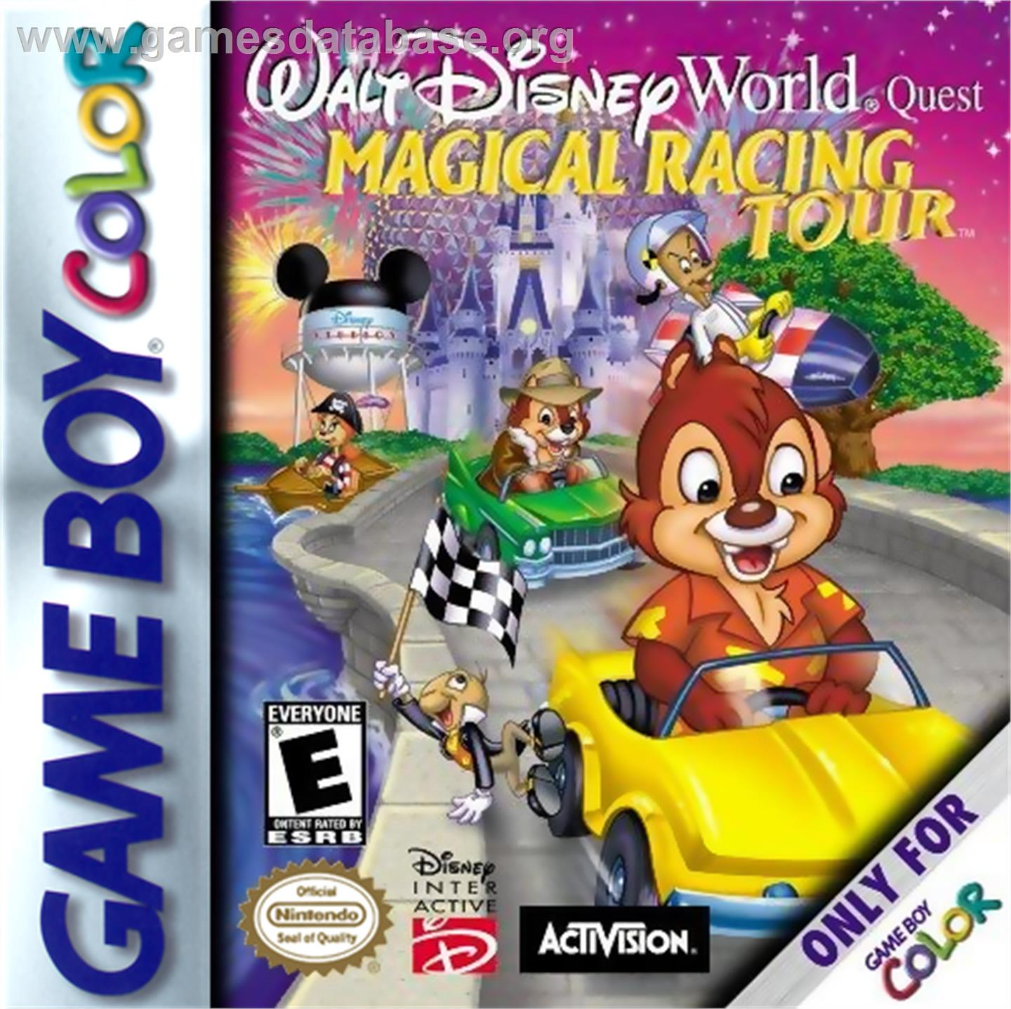 Walt Disney World Quest: Magical Racing Tour - Nintendo Game Boy ...