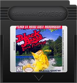 Cartridge artwork for Black Bass - Lure Fishing on the Nintendo Game Boy Color.