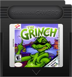 Cartridge artwork for Grinch on the Nintendo Game Boy Color.