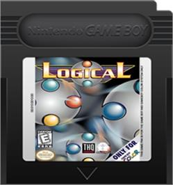 Cartridge artwork for Logical on the Nintendo Game Boy Color.