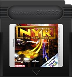 Cartridge artwork for New York Race on the Nintendo Game Boy Color.