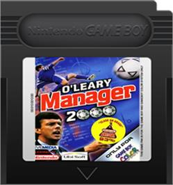 Cartridge artwork for O'Leary Manager 2000 on the Nintendo Game Boy Color.