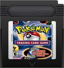 Cartridge artwork for Pokemon Trading Card Game on the Nintendo Game Boy Color.