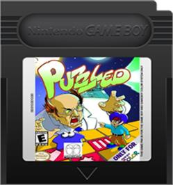 Cartridge artwork for Puzzled on the Nintendo Game Boy Color.
