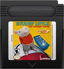 Cartridge artwork for Stuart Little: The Journey Home on the Nintendo Game Boy Color.