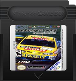 Cartridge artwork for TOCA Touring Car Championship on the Nintendo Game Boy Color.