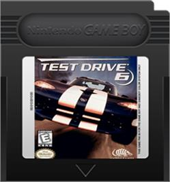 Cartridge artwork for Test Drive 6 on the Nintendo Game Boy Color.