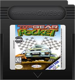 Cartridge artwork for Top Gear Pocket on the Nintendo Game Boy Color.