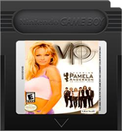 Cartridge artwork for V.I.P. on the Nintendo Game Boy Color.