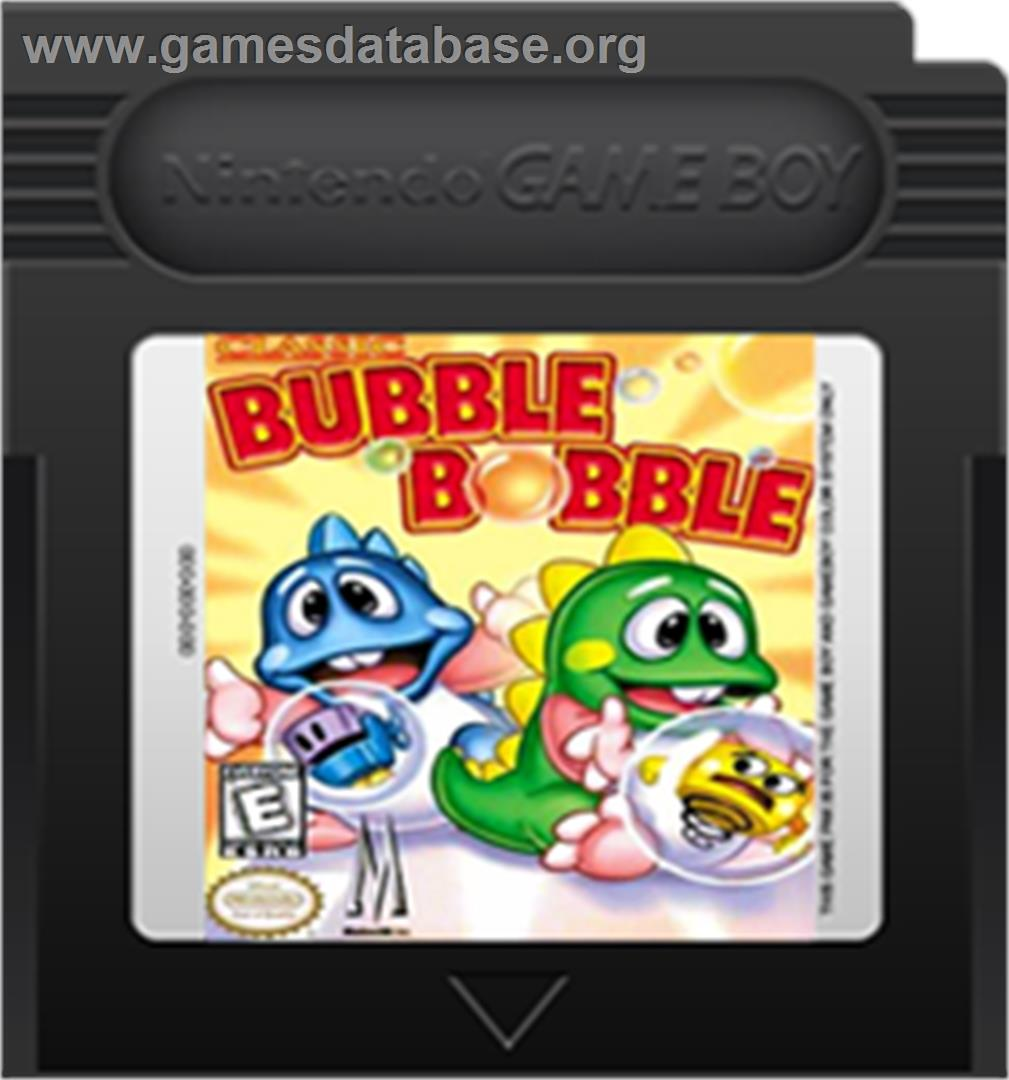 artwork for Bubble Bobble Classic on the Nintendo Game Boy Color