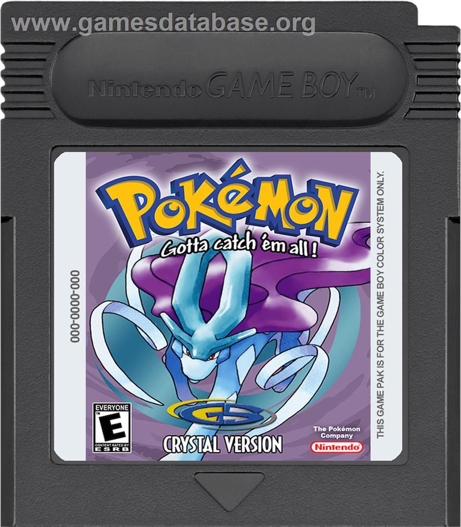Pokemon gameboy color roms - Pokemon Crystal Version Nintendo Game Boy Color Artwork Cartridge