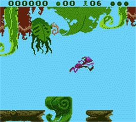In game image of A Bug's Life on the Nintendo Game Boy Color.