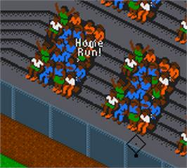 In game image of All-Star Baseball 2000 on the Nintendo Game Boy Color.