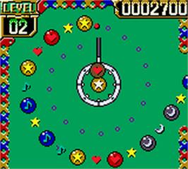 In game image of Ballistic on the Nintendo Game Boy Color.