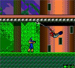 In game image of Bionic Commando: Elite Forces on the Nintendo Game Boy Color.