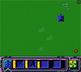 In game image of Force 21 on the Nintendo Game Boy Color.