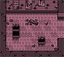 In game image of Grandia: Parallel Trippers on the Nintendo Game Boy Color.
