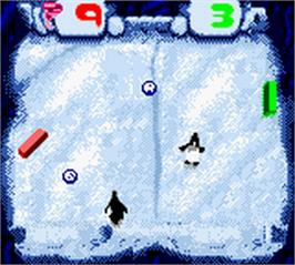 In game image of Pong: The Next Level on the Nintendo Game Boy Color.
