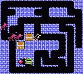 In game image of Quest - Fantasy Challenge on the Nintendo Game Boy Color.