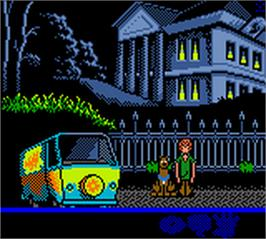 In game image of Scooby Doo! Classic Creep Capers on the Nintendo Game Boy Color.