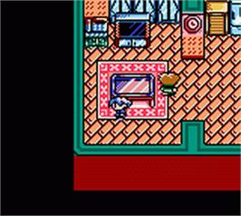 In game image of Shin Megami Tensei: Devil Children - Kuro no Sho on the Nintendo Game Boy Color.