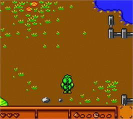 In game image of Tabaluga on the Nintendo Game Boy Color.