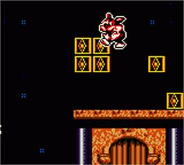 In game image of Titus the Fox: To Marrakech and Back on the Nintendo Game Boy Color.