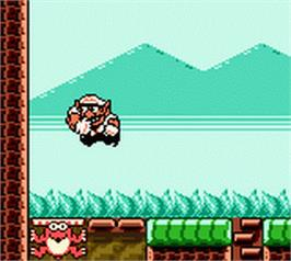 In game image of Wario Land 3 on the Nintendo Game Boy Color.