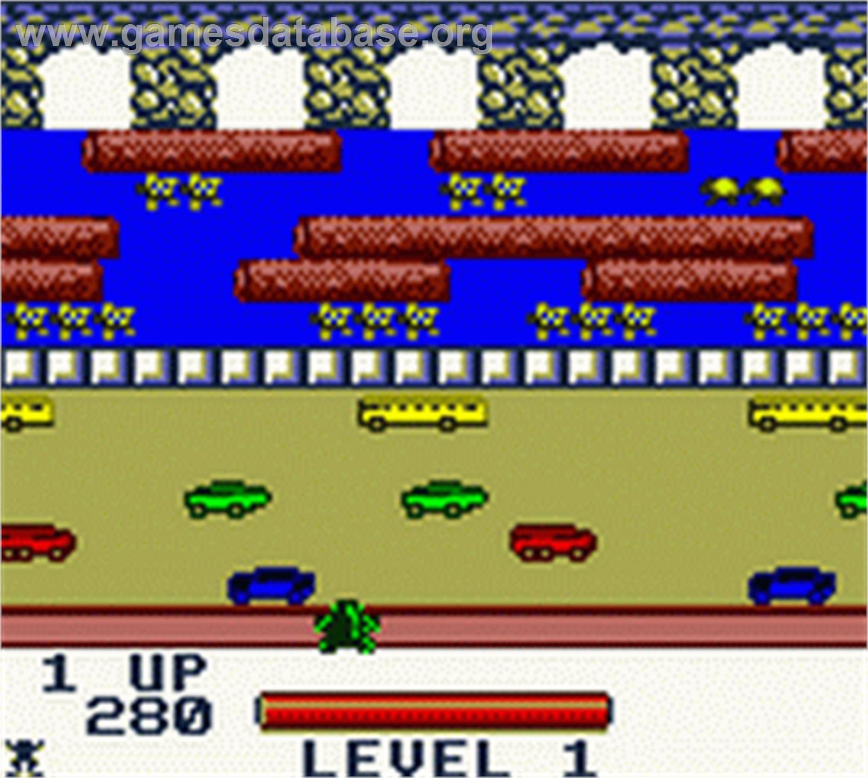 Frogger - Nintendo Game Boy Color - Artwork - In Game