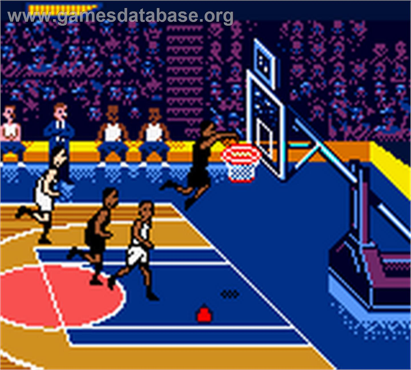 game image of NBA Showtime: NBA on NBC on the Nintendo Game Boy Color