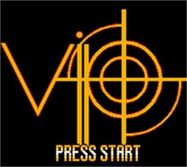 Title screen of V.I.P. on the Nintendo Game Boy Color.