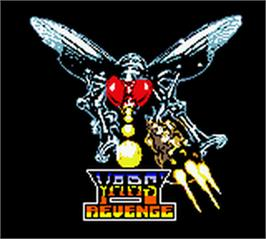 Title screen of Yars' Revenge - Quotile Ultimatum on the Nintendo Game Boy Color.