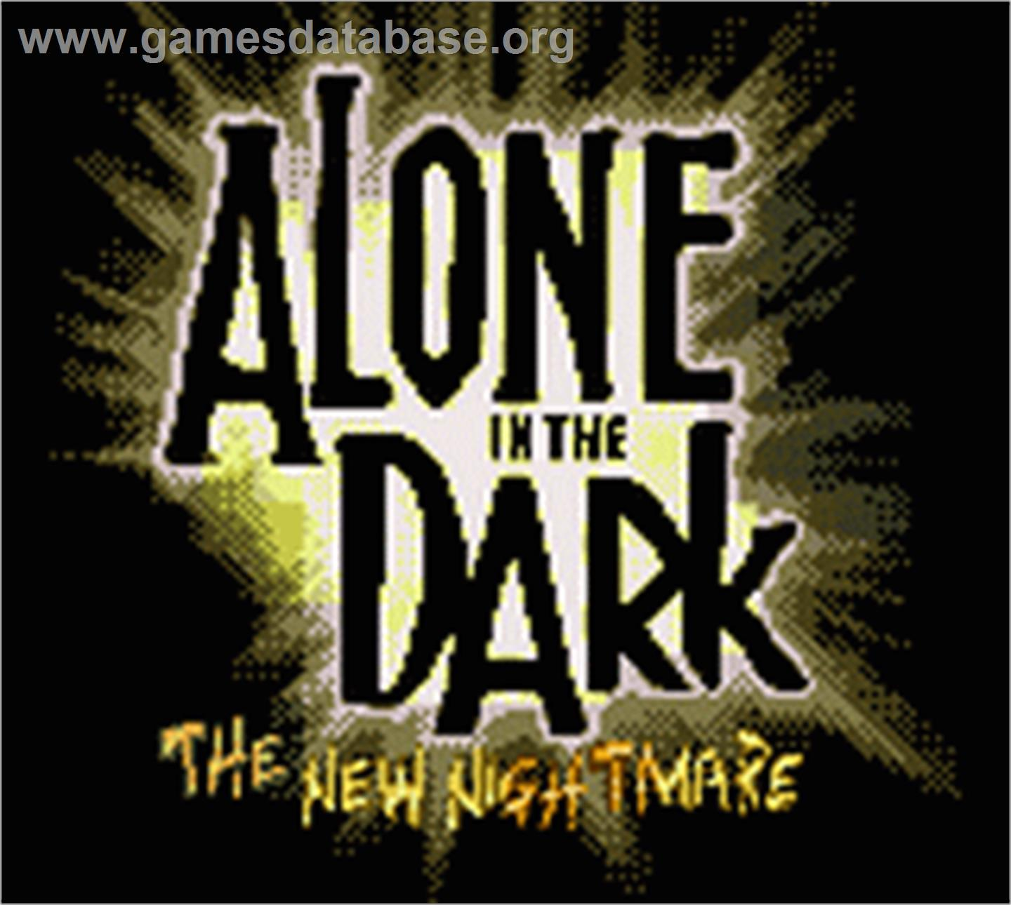 Alone in the Dark: The New Nightmare on the Nintendo Game Boy Color