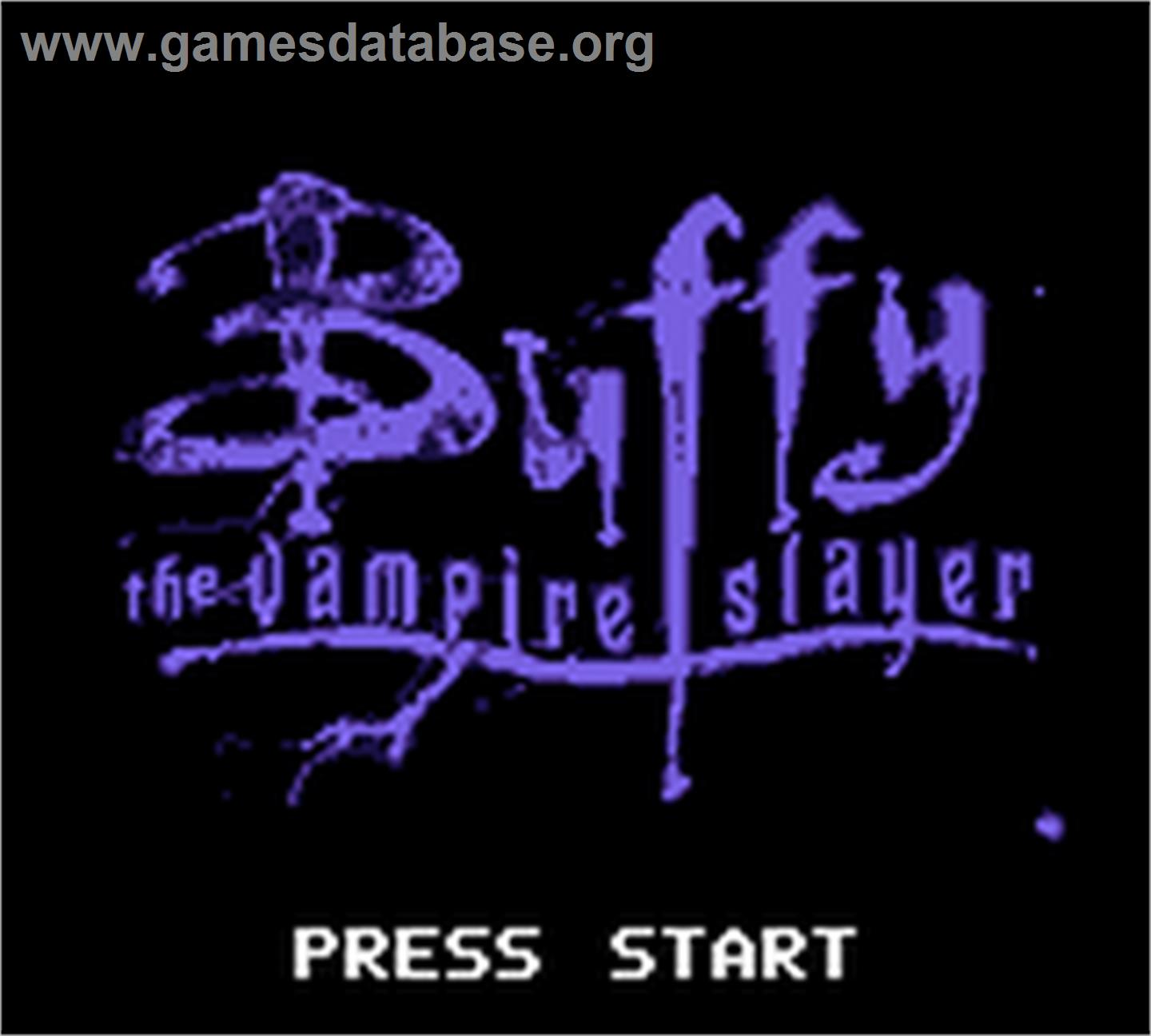 Image Result For Buffy The Vampire Slayer Game Boy Color