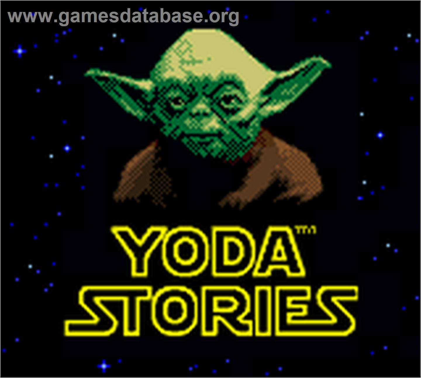 screen of Star Wars: Yoda Stories on the Nintendo Game Boy Color