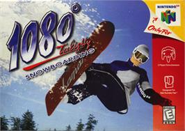 Box cover for 1080° Snowboarding on the Nintendo N64.