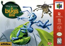 Box cover for A Bug's Life on the Nintendo N64.