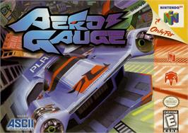 Box cover for AeroGauge on the Nintendo N64.