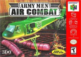 Box cover for Army Men: Air Combat on the Nintendo N64.