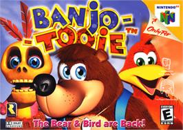 Box cover for Banjo-Tooie on the Nintendo N64.