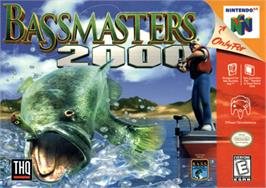 Box cover for Bassmasters 2000 on the Nintendo N64.
