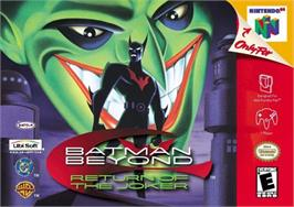 Box cover for Batman Beyond: Return of the Joker on the Nintendo N64.