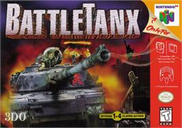 Box cover for BattleTanx: Global Assault on the Nintendo N64.