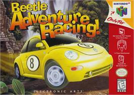 Box cover for Beetle Adventure Racing on the Nintendo N64.