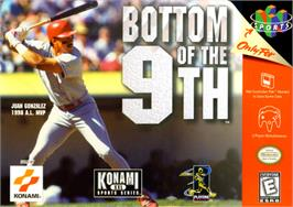Box cover for Bottom of the Ninth on the Nintendo N64.